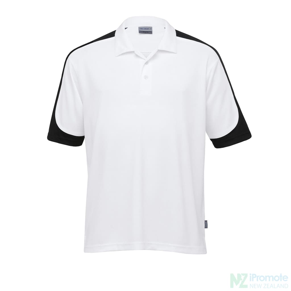 Dri Gear Challenger Polo White/black/white Shirts