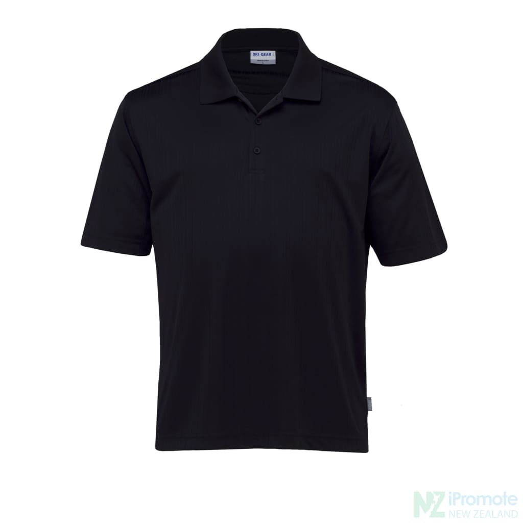 Dri Gear Corporate Pinnacle Polo Black / Small Shirts