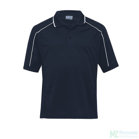 Dri Gear Eyelet Polo Navy / Small Shirts