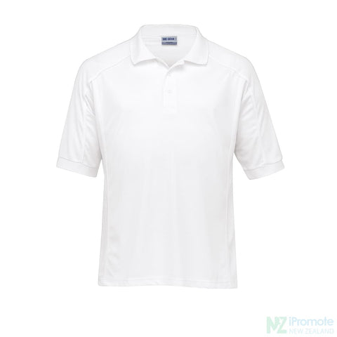 Dri Gear Eyelet Polo White / Small Shirts