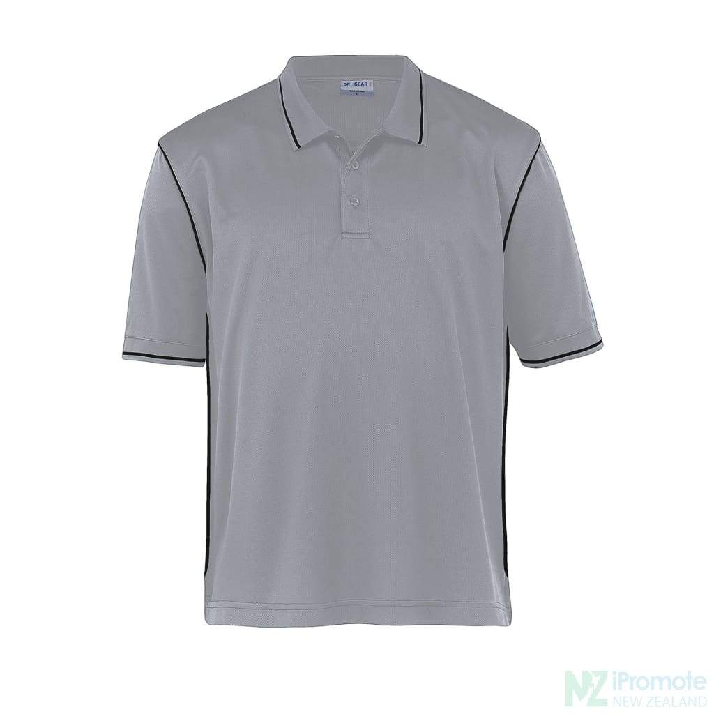 Dri Gear Hype Polo Aluminium/black Shirts