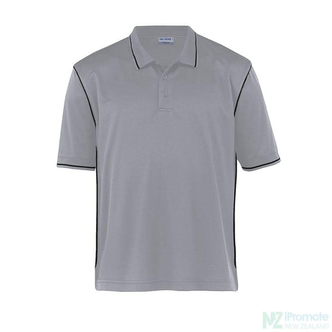 Image of Dri Gear Hype Polo Aluminium/black Shirts