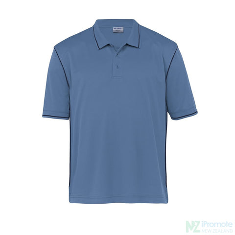 Image of Dri Gear Hype Polo Blueberry/navy Shirts