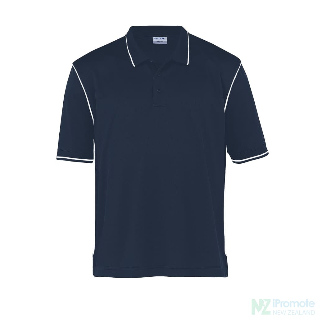 Dri Gear Hype Polo Navy/white Shirts
