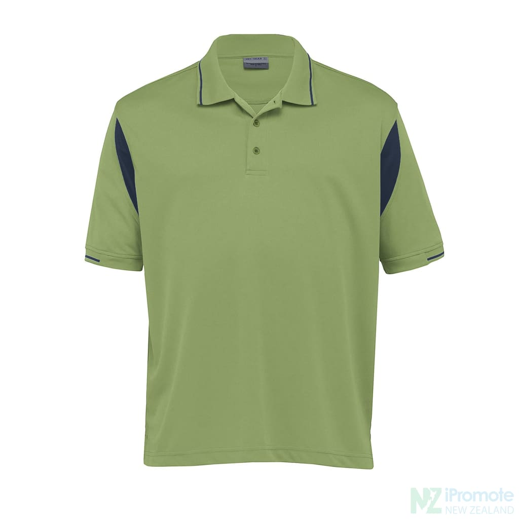 Dri Gear Insert Polo Apple/navy Shirts