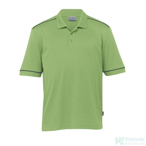 Dri Gear Matrix Polo Cool Lime/navy Shirts