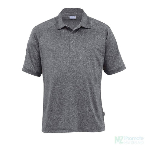 Dri Gear Melange Polo Graphite / Small Shirts