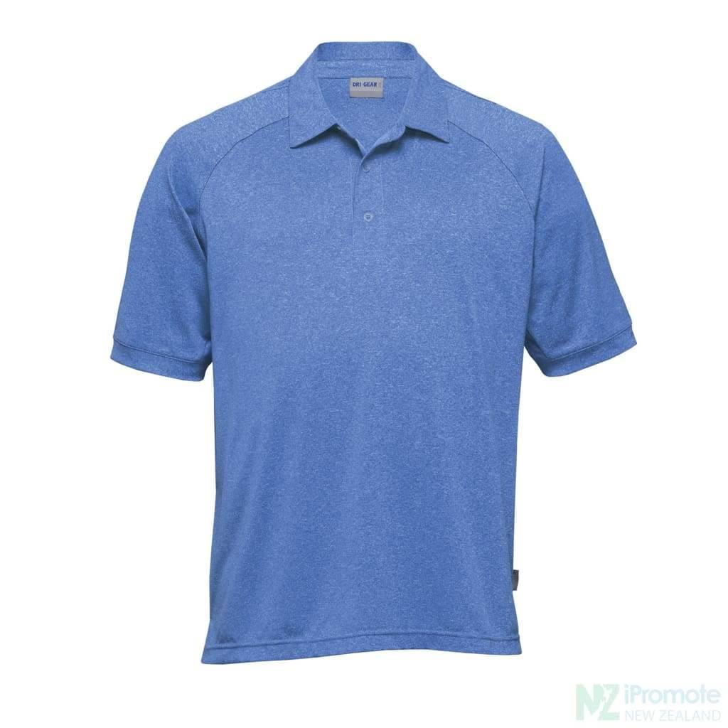 Dri Gear Melange Polo Royal / Small Shirts