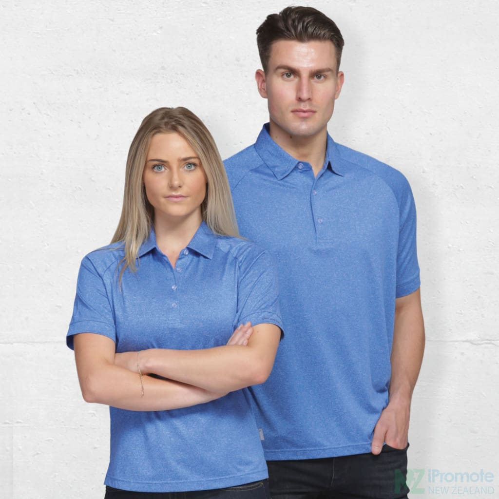Dri Gear Melange Polo Shirts