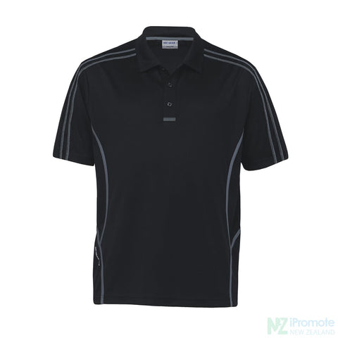 Image of Dri Gear Reflex Polo Black/charcoal Shirts