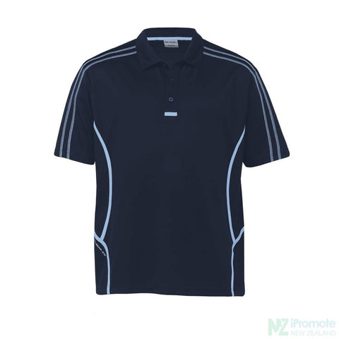 Image of Dri Gear Reflex Polo Navy/sky Shirts