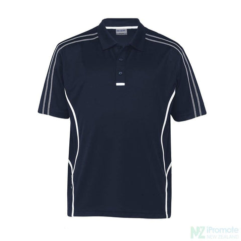 Image of Dri Gear Reflex Polo Navy/white Shirts
