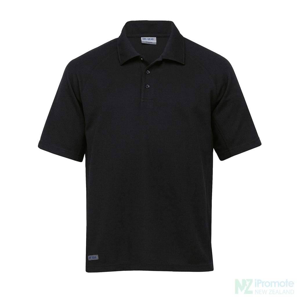Dri Gear Summit Coolmax Polo Black / Xs Shirts
