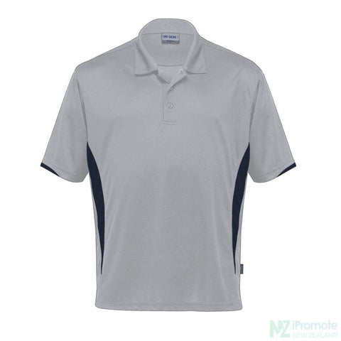 Dri Gear Zone Polo Silver/black Shirts