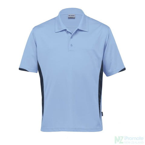 Dri Gear Zone Polo Sky/navy Shirts