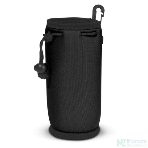Image of Drink Bottle Carry Bag Black Holder