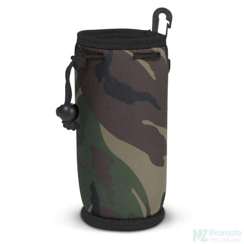 Image of Drink Bottle Carry Bag Camoflage Holder