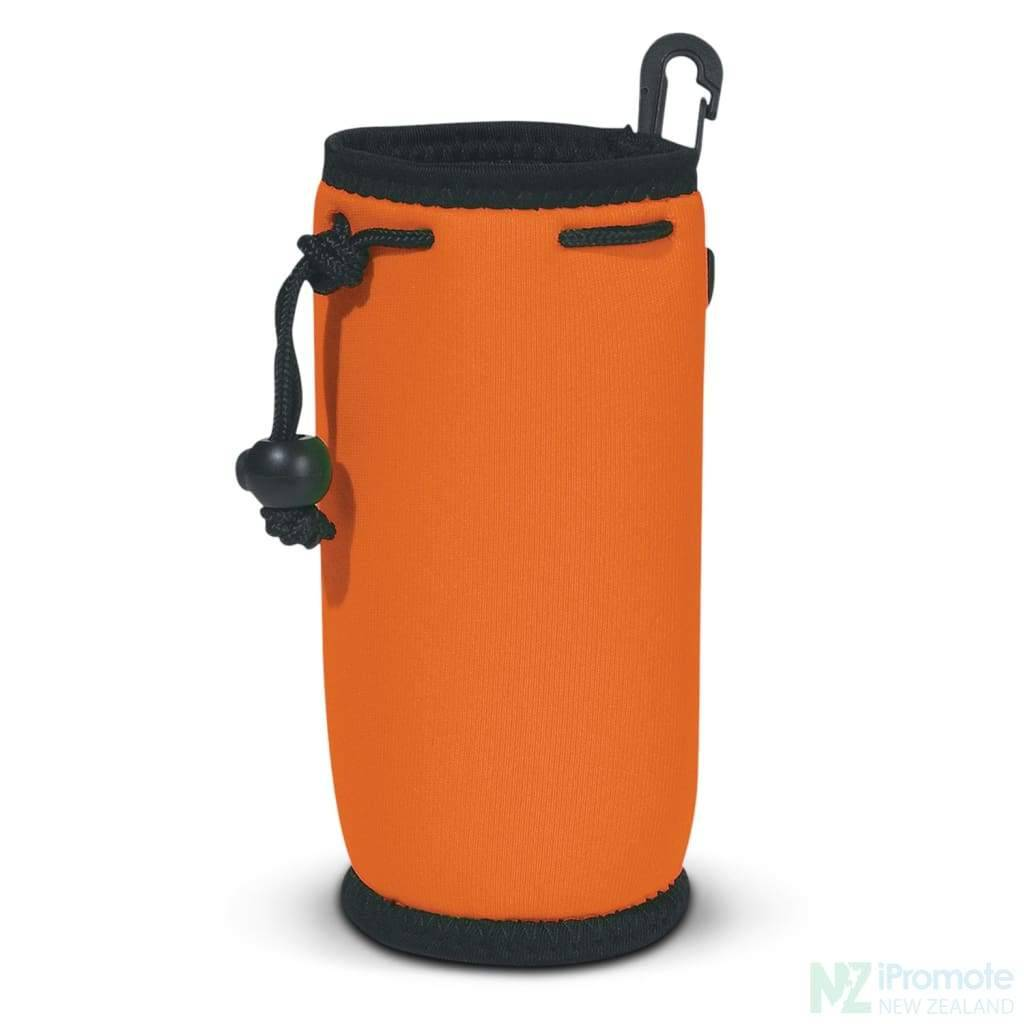 Drink Bottle Carry Bag Orange Holder