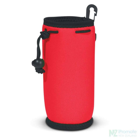 Image of Drink Bottle Carry Bag Red Holder