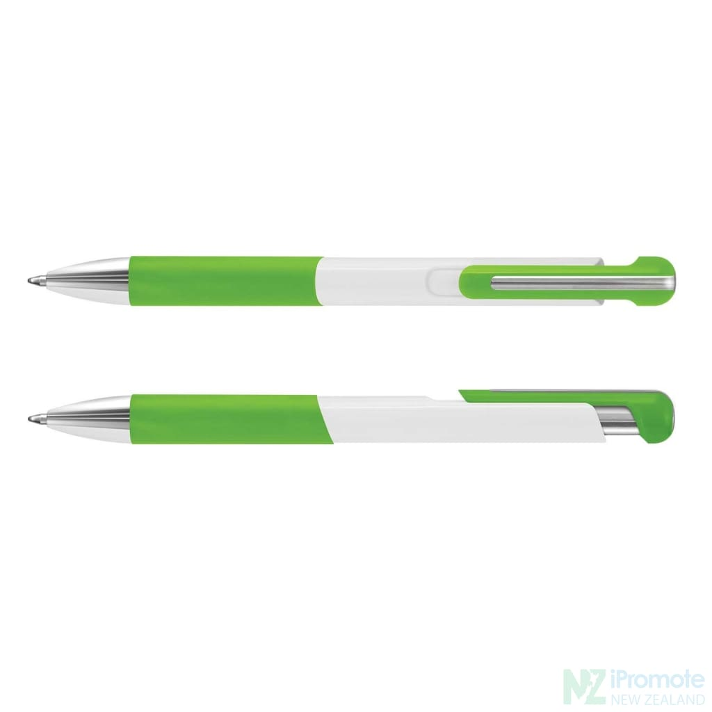 Dynasty Pen Bright Green Plastic Promotional Pens
