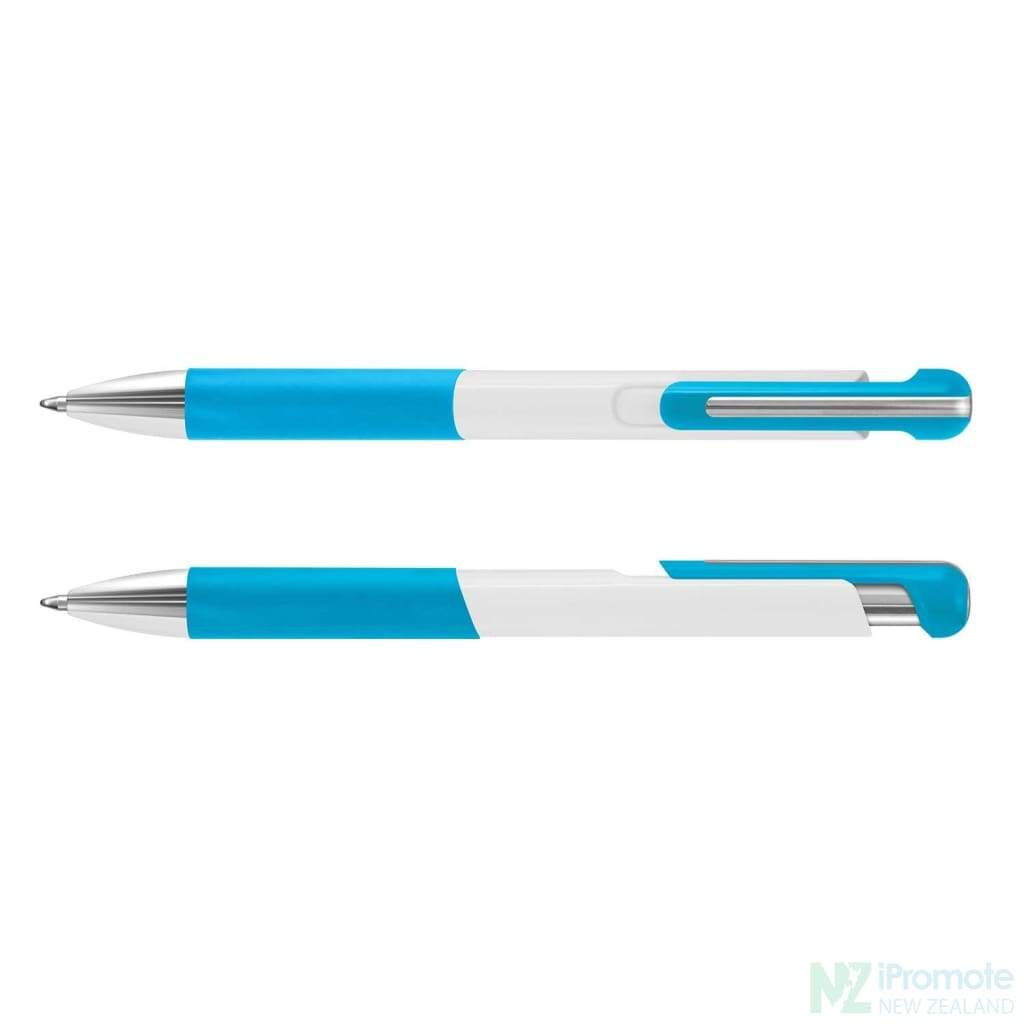 Dynasty Pen Light Blue Plastic Promotional Pens