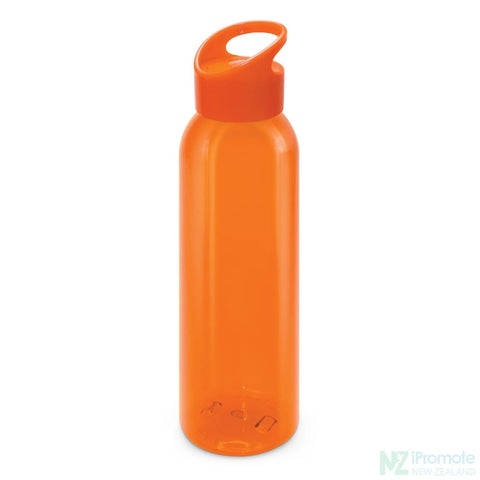 Image of Eclipse Drink Bottle Orange Plastic Bpa Free