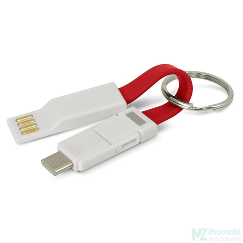 Electron 3 In 1 Charging Cable Red Tech Accessories