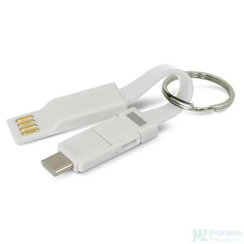 Electron 3 In 1 Charging Cable White Tech Accessories