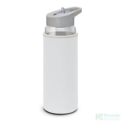 Elixir Glass Drink Bottle White