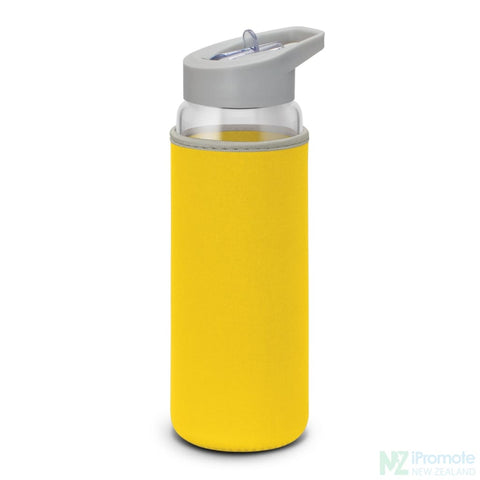 Elixir Glass Drink Bottle Yellow