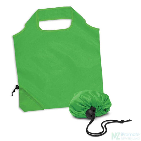 Image of Ergo Fold Away Tote Bag Bright Green Bags