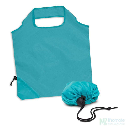 Image of Ergo Fold Away Tote Bag Light Blue Bags