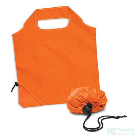 Image of Ergo Fold Away Tote Bag Orange Bags