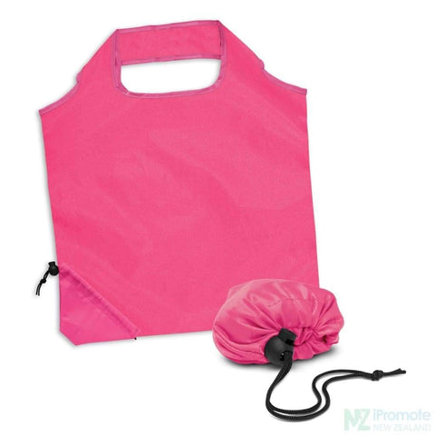Image of Ergo Fold Away Tote Bag Pink Bags