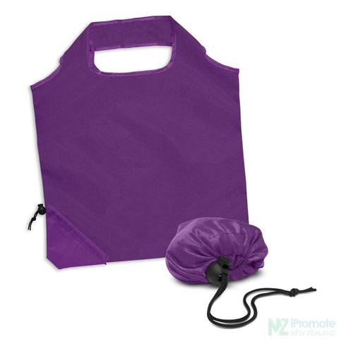 Image of Ergo Fold Away Tote Bag Purple Bags