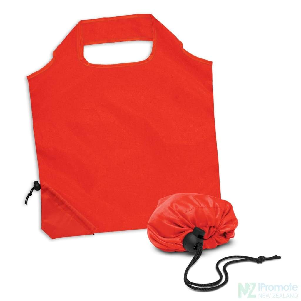 Ergo Fold Away Tote Bag Red Bags