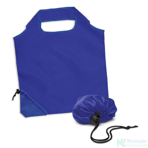 Image of Ergo Fold Away Tote Bag Royal Blue Bags