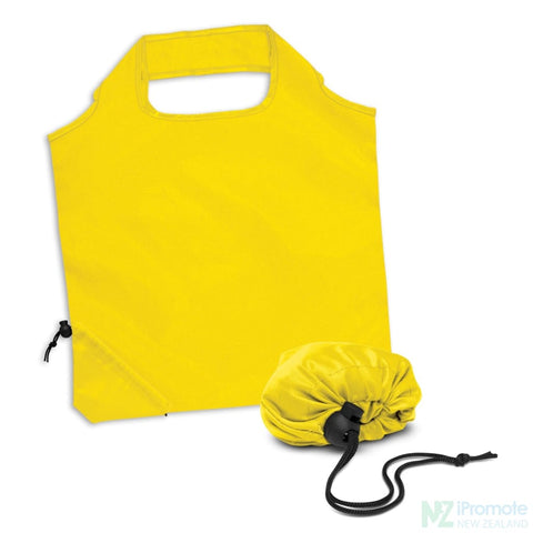 Image of Ergo Fold Away Tote Bag Yellow Bags