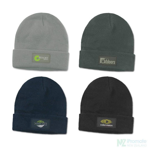 Everest Beanie With Patch Beanies