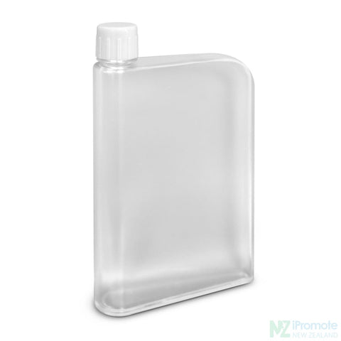Image of Flat 400Ml Business Water Bottle Clear Drink