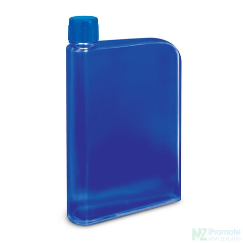 Image of Flat 400Ml Business Water Bottle Dark Blue Drink
