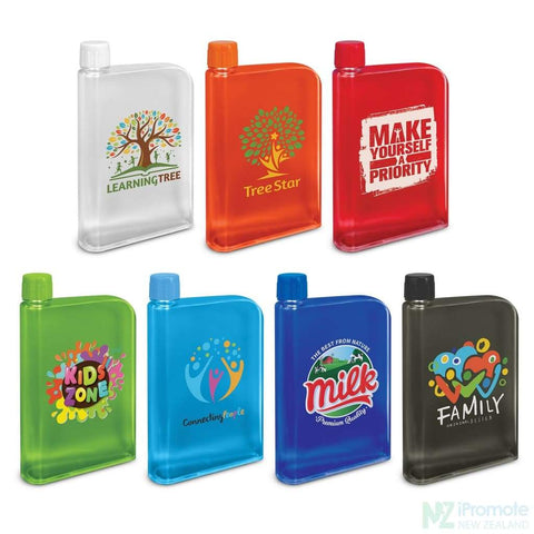 Image of Flat 400Ml Business Water Bottle Drink