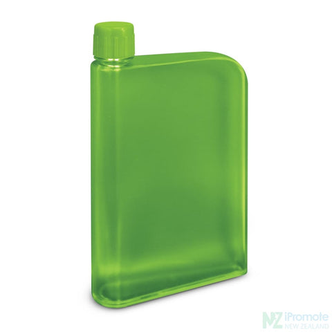 Image of Flat 400Ml Business Water Bottle Green Drink