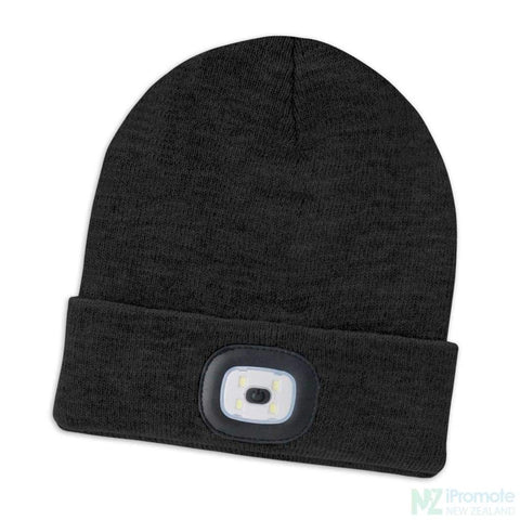 Headlamp Beanie Black Beanies
