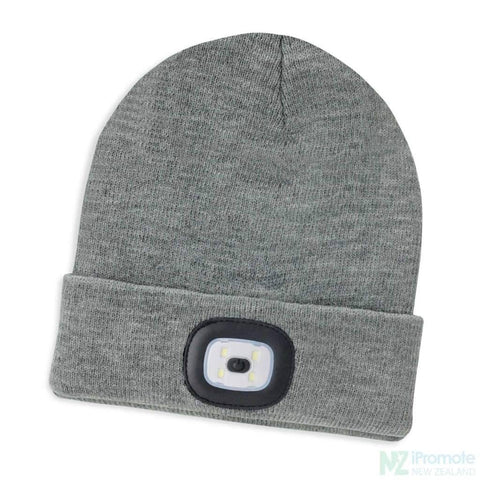 Headlamp Beanie Grey Beanies