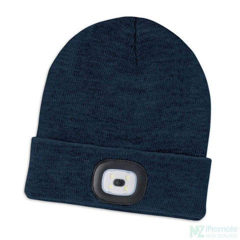 Headlamp Beanie Navy Beanies