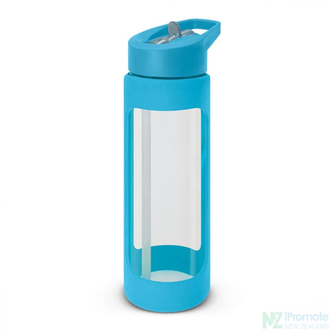 Jupiter Glass Bottle Light Blue Drink