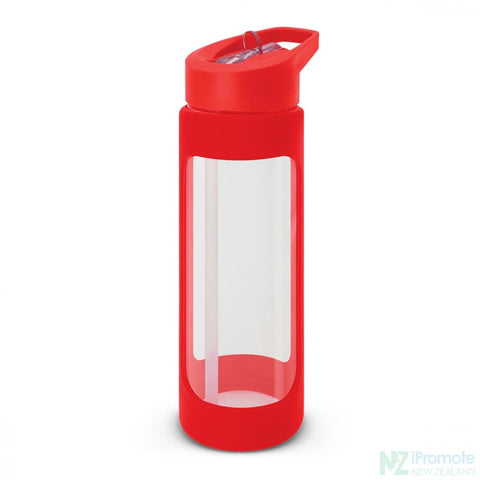 Jupiter Glass Bottle Red Drink