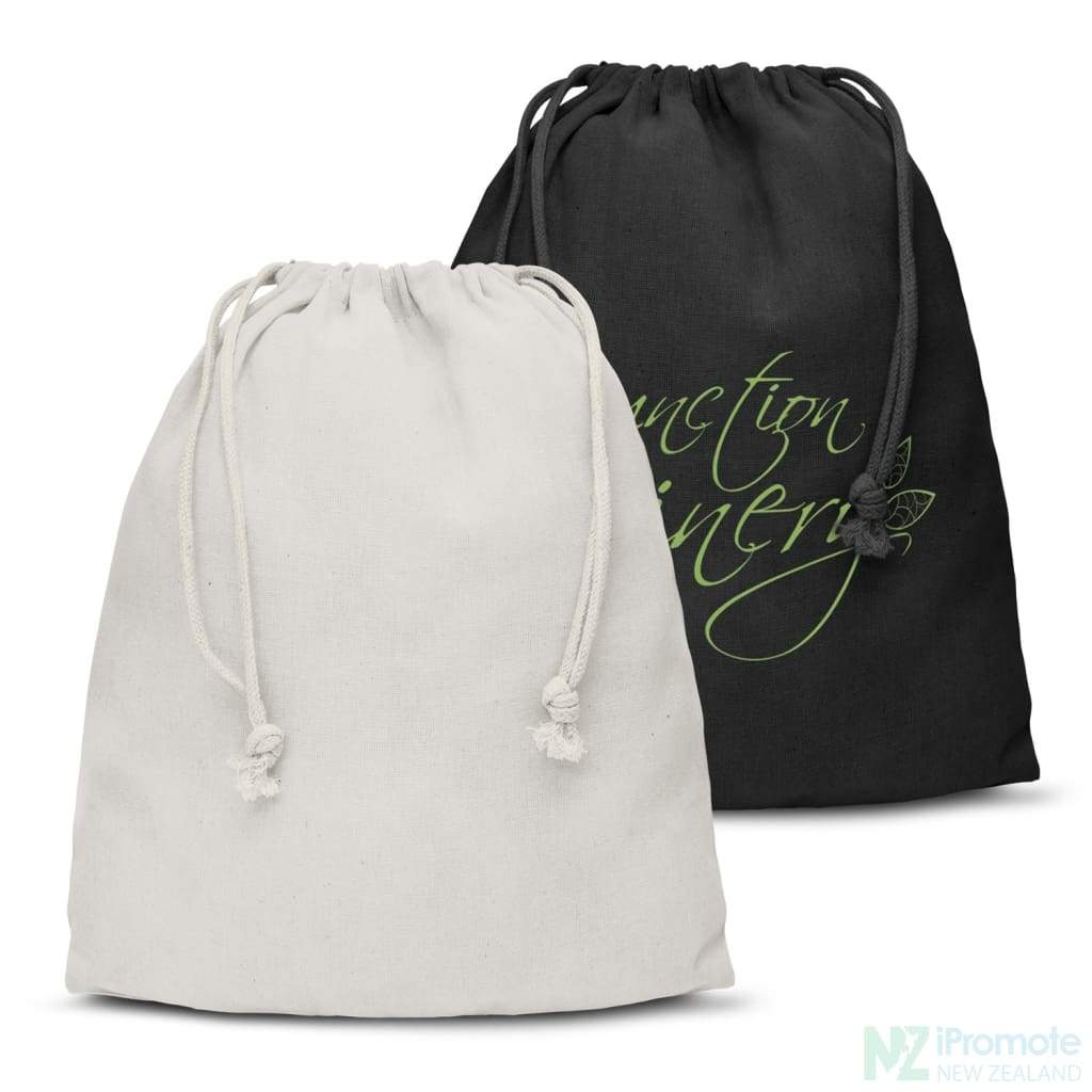 Large Cotton Gift Bag Drawstring