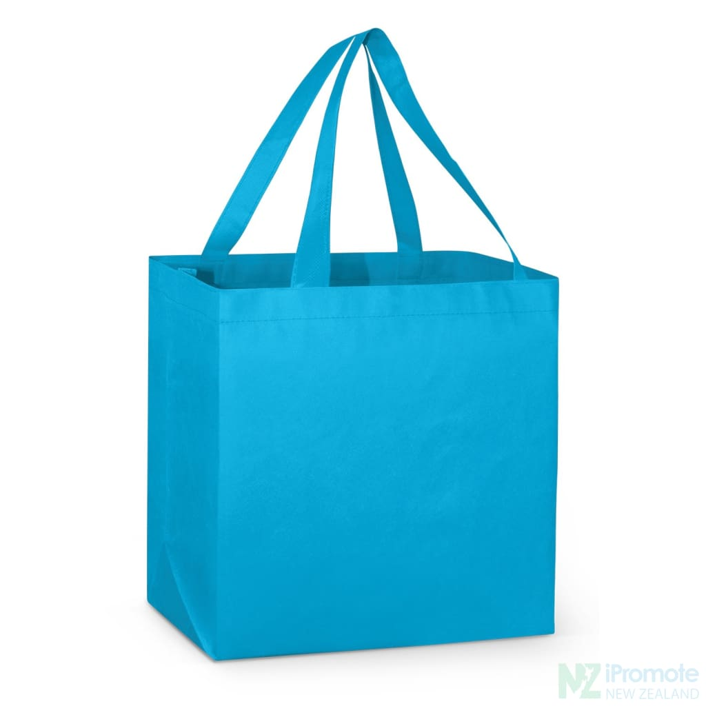 Large Reinforced Shopper Tote Bag Bright Blue Bags